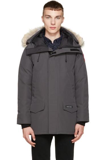Canada Goose - Grey Down & Fur Langford Parka