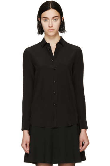 Saint Laurent - Black Silk Crêpe Shirt