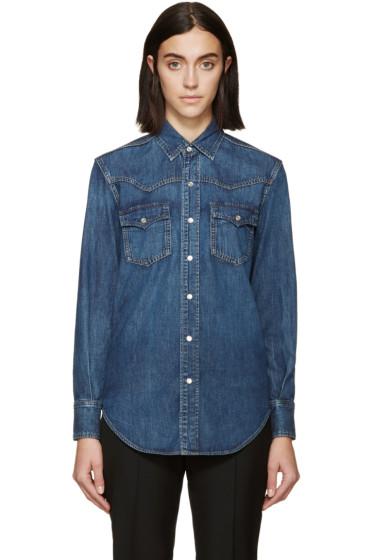 Saint Laurent - Blue Denim Shirt