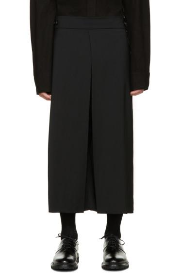 Thamanyah - Black Wool Culottes