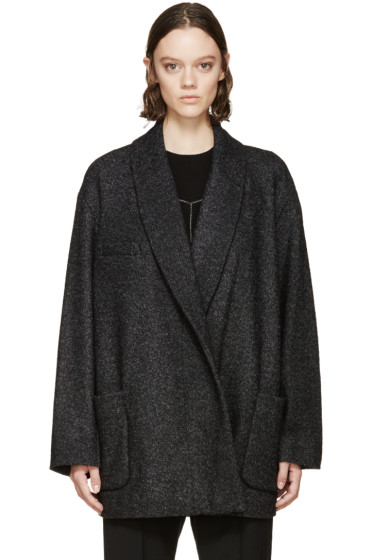 Isabel Marant Etoile - Grey Wool Dajo Coat