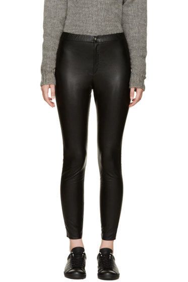 Isabel Marant Etoile - Black Jeffrey Easy Leggings