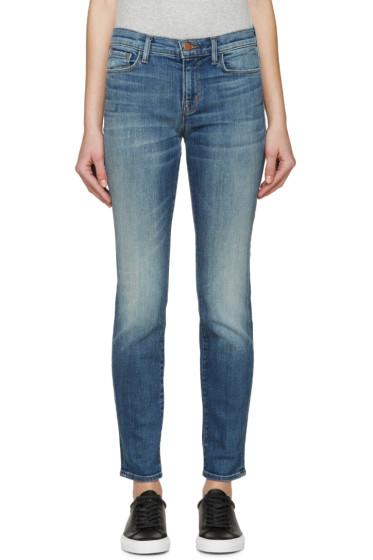J Brand - Blue Skinny Leg Jeans
