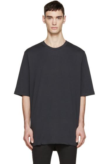 3.1 Phillip Lim - Black Extra Long T-Shirt