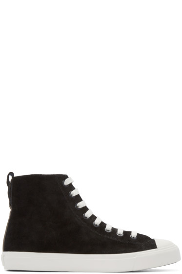 Paul Smith Jeans - Black Allegra High-Top Sneakers