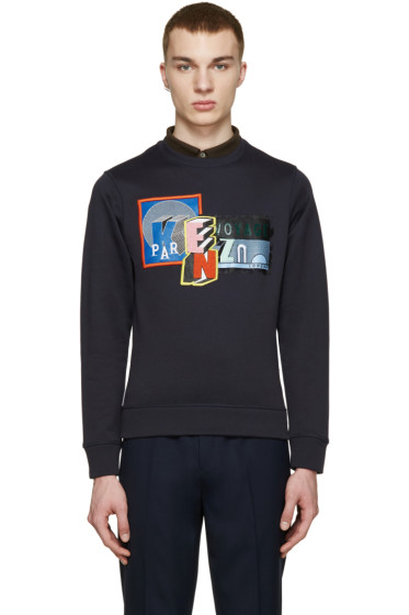 Kenzo - Navy Badge Pullover