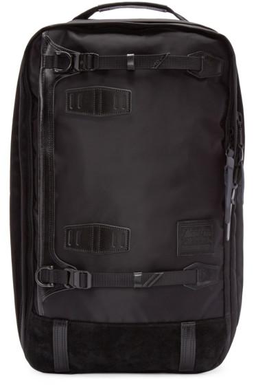 Master-Piece Co - Black Nylon 3-Way Backpack