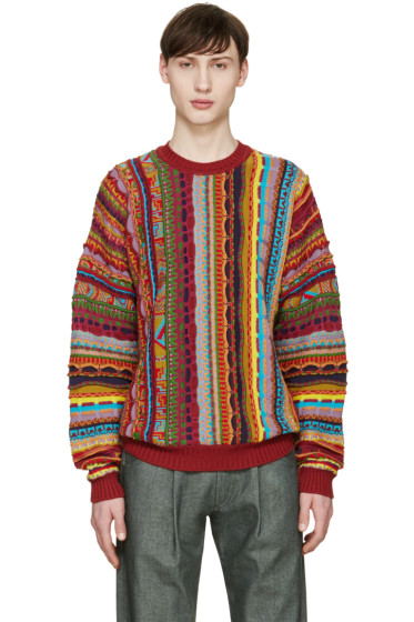 Gosha Rubchinskiy - Multicolor Knit Mix Sweater