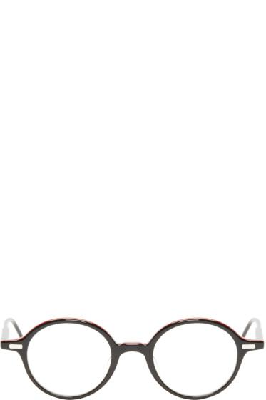 Thom Browne - Black Round TB-407 Glasses
