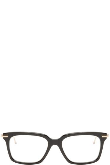 Thom Browne - Black & Gold TB-701 Glasses