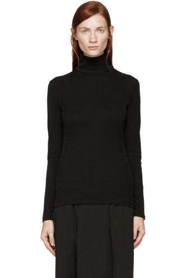 Yohji Yamamoto - Black Turtleneck Shirt