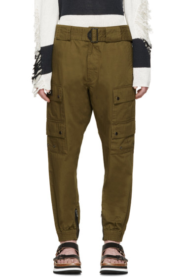 Diesel - Green Sly Cargo Pants