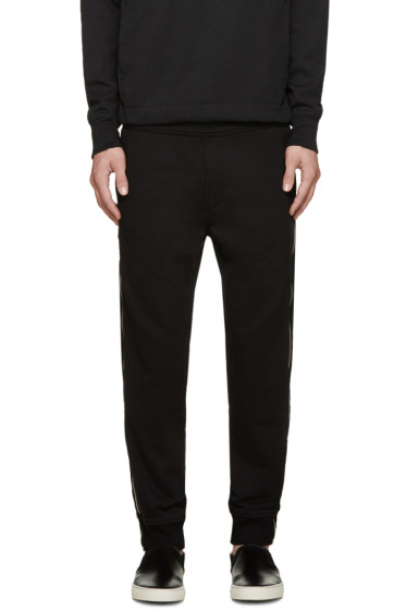 Diesel - Black Zipper P-ZIPO Lounge Pants