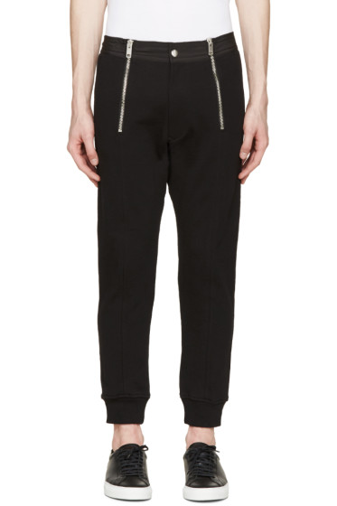 Diesel - Black Smoky Lounge Pants