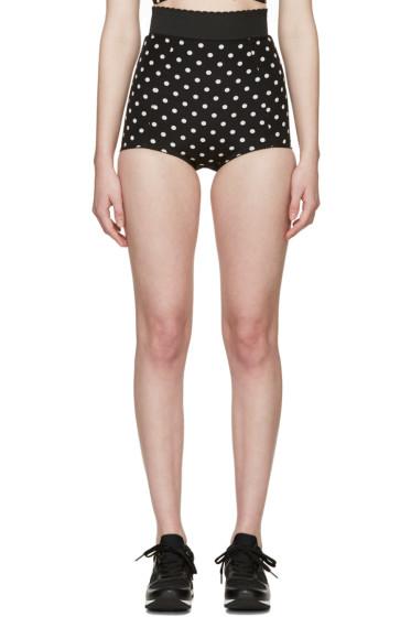Dolce & Gabbana - Black & White Polka Dot Briefs