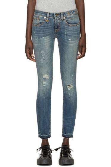 R13 - Blue Skinny Kate Jeans