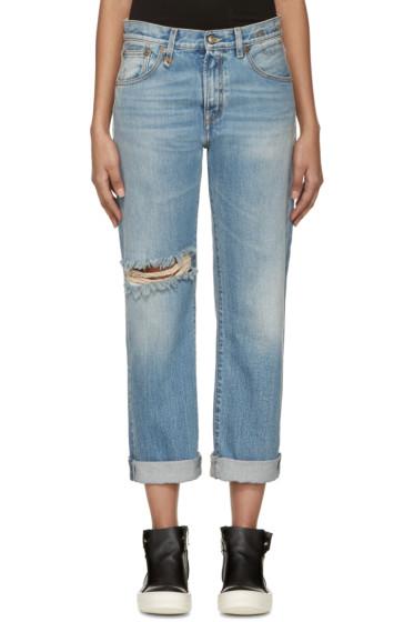 R13 - Blue Catherine Boyfriend Jeans