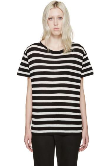 R13 - Black & White Boy T-Shirt