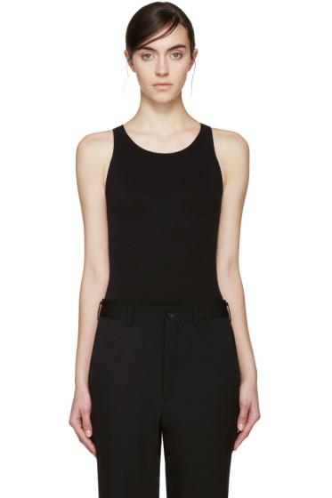 Rick Owens Lilies - Black Sleeveless Bodysuit