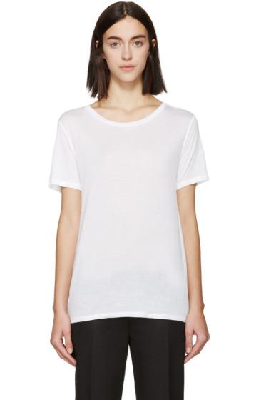 Rag & Bone - White Jersey Concert T-Shirt