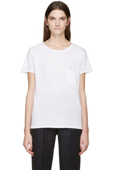 Rag & Bone - White X-Boyfriend T-Shirt
