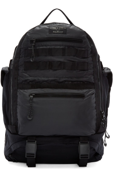 Rag & Bone - Black Textile Rucksack