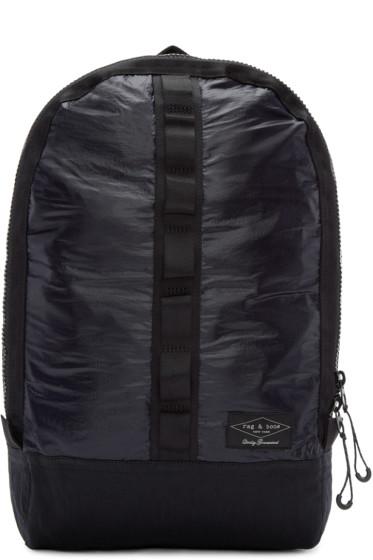 Rag & Bone - Navy & Black Derby Backpack