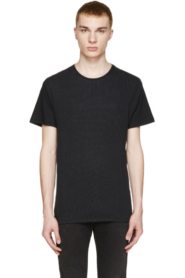 Rag & Bone - Black & White Striped Graham T-Shirt