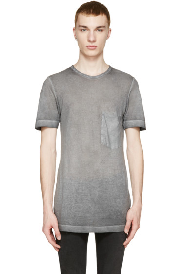 Diesel Black Gold - Grey Faded T-Shirt