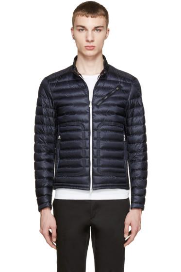 Moncler - Navy Down Picard Jacket