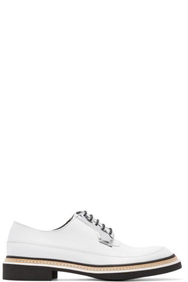McQ Alexander Mcqueen - White Leather Columbia Derbys