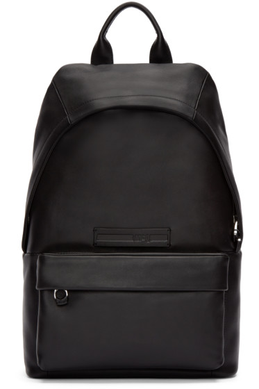 McQ Alexander Mcqueen - Black Studded Straps Backpack
