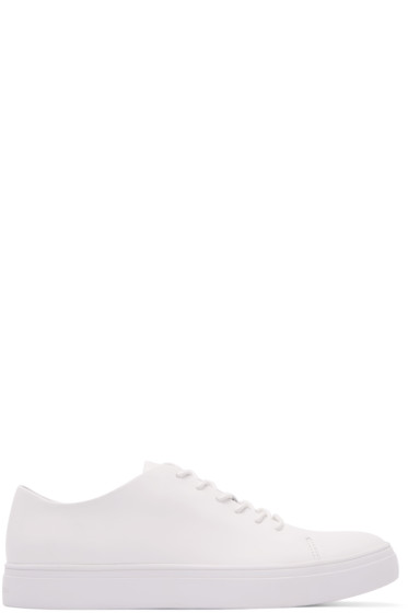 Tiger of Sweden - White Leather Yngve Sneakers