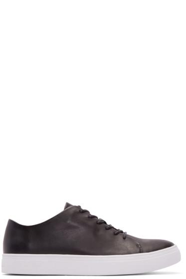 Tiger of Sweden - Black Leather Yngve Sneakers