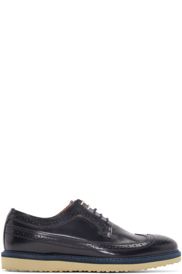 Tiger of Sweden - Navy Shine Charly 21 Brogues