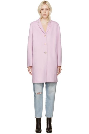 Acne Studios - Pink Wool & Cashmere Elsa Coat