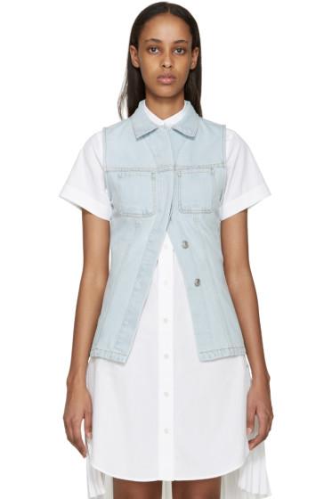 Acne Studios - Blue Denim Gracella Vest