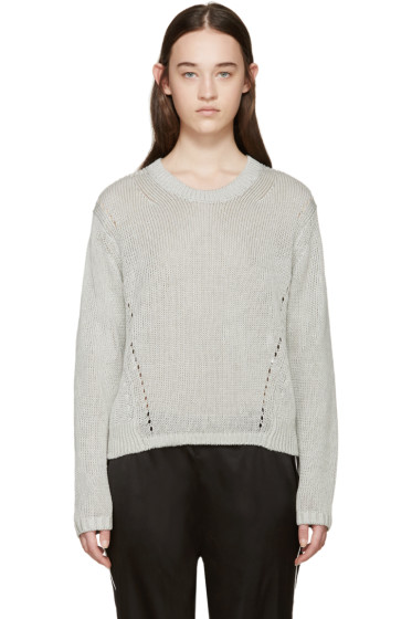 Acne Studios - Grey Knit Phora Sweater