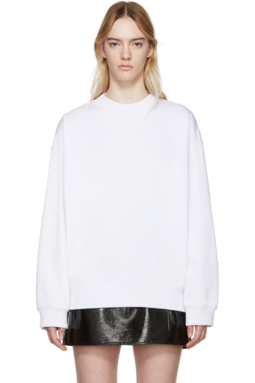 Acne Studios - White Beta Guitar Sweatshirt