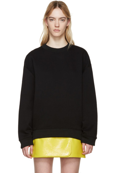 Acne Studios - Black Beta Guitar Sweatshirt