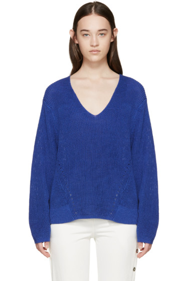 Acne Studios - Blue Deborah Chunky Sweater