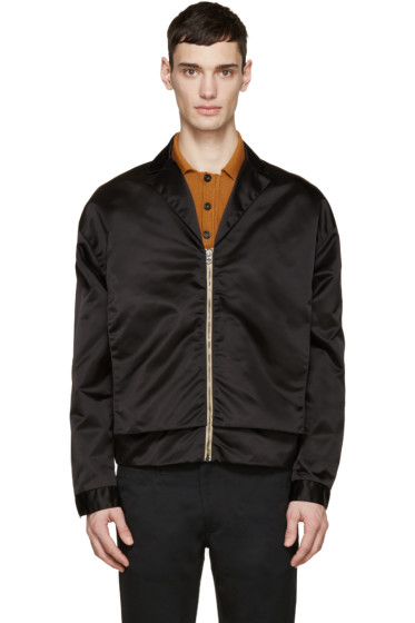 Acne Studios - Black Nylon Mennedy Jacket