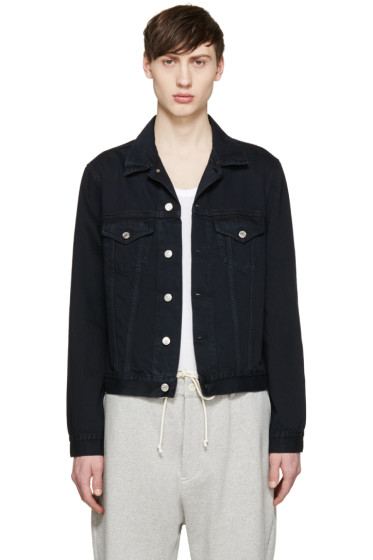 Acne Studios - Black Denim Who Jacket