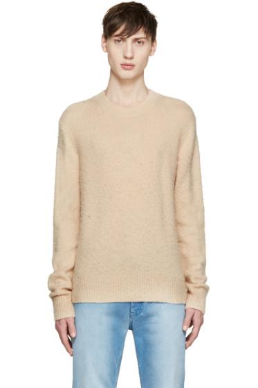 Acne Studios - Beige Cashmere Peele Sweater