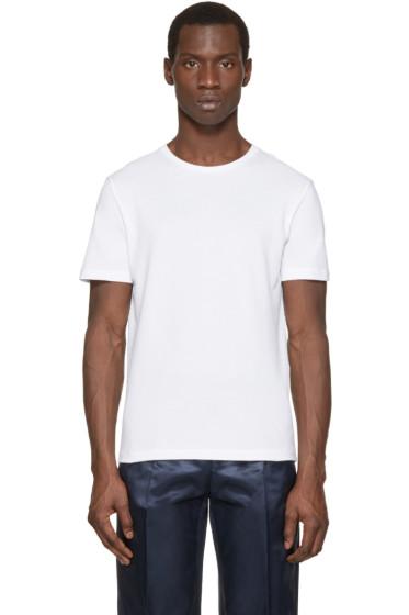 Acne Studios - White Eddy Piqué T-Shirt