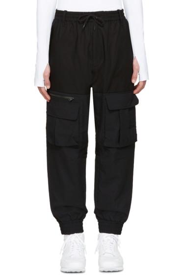 Y-3 - Black Air Mesh Cargo Pants