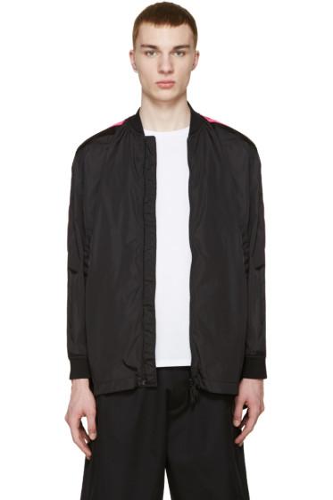 Dsquared2 - Black & Pink Bomber Jacket