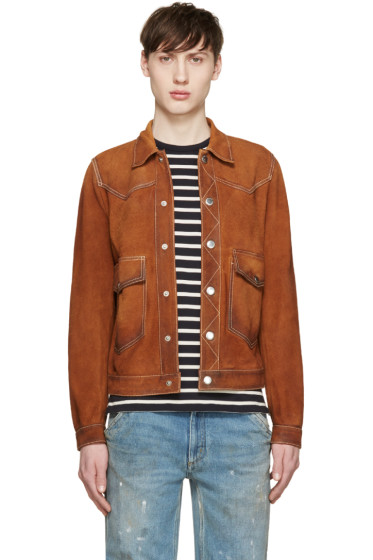 Dsquared2 - Brown Suede Jacket