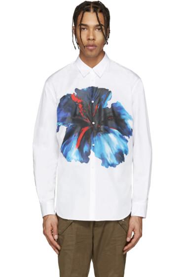 Dsquared2 - White Flower Print Shirt
