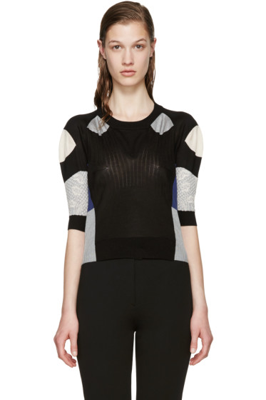 Maison Martin Margiela - Multicolor Silk Jacquard Sweater
